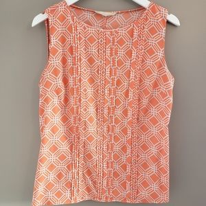 Banana Republic Geometric Print Sleeveless